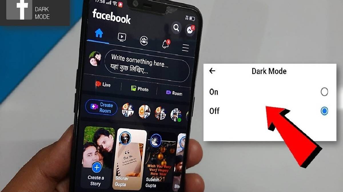 Facebook Dark Mode – Available in iOS, Hidden Interface, and More