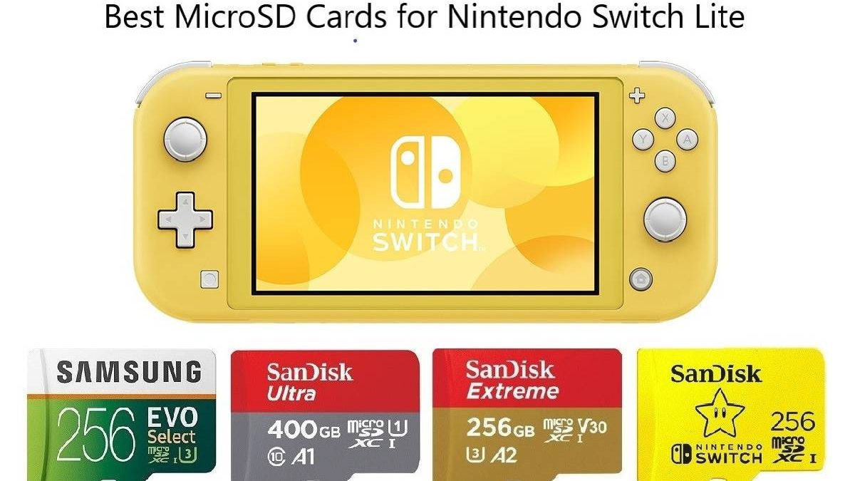 Nintendo Switch Lite Micro Card – Buying Recommendations, Featured Models, and More