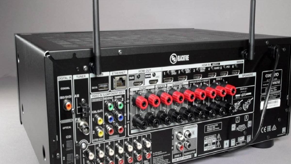 Onkyo TX-NR676E – Equipment, Multimedia, Technology, and More