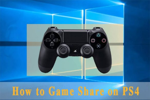 How To Share Ps4 Games