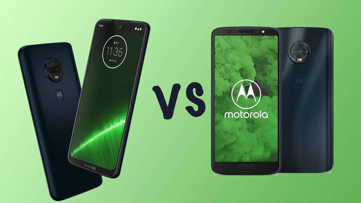 Moto G6 vs Moto G7 – Similar Design with Differences, Different Sizes, and More