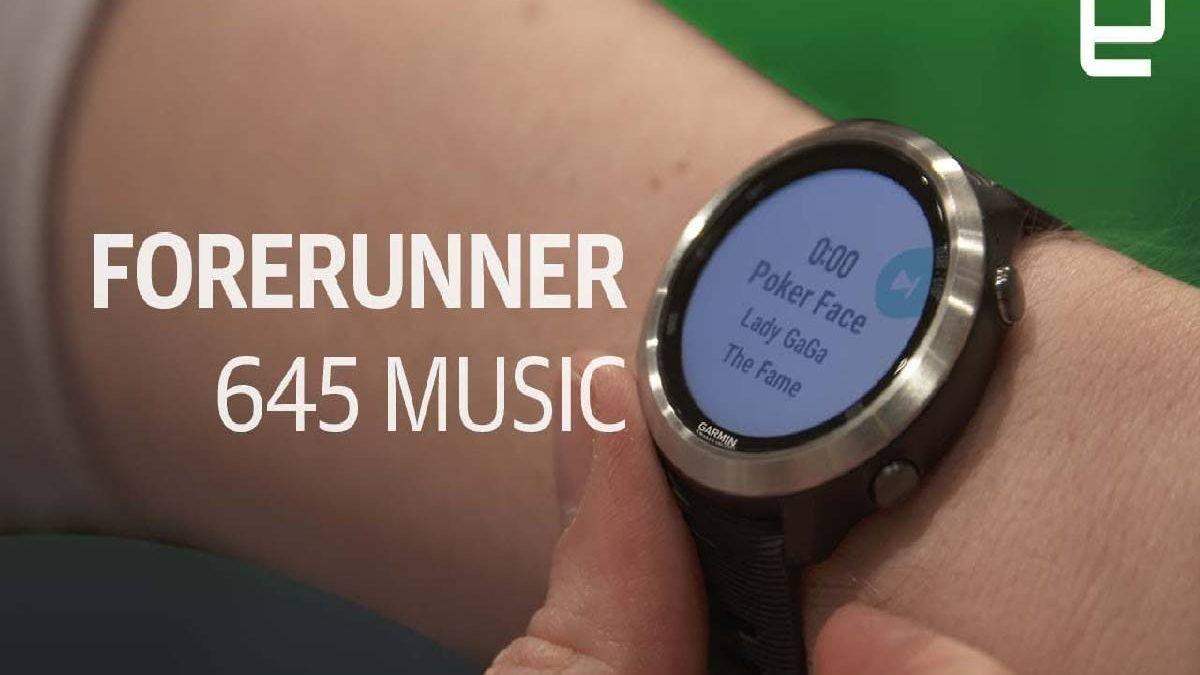 Garmin Forerunner 645 Music – Summary, Timepiece, and More