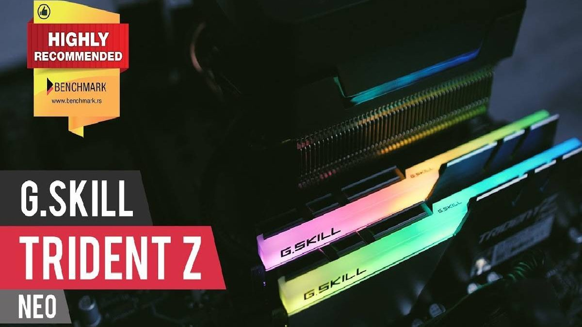 G.Skill Trident Z Neo – Review, Unboxing, Design, and More