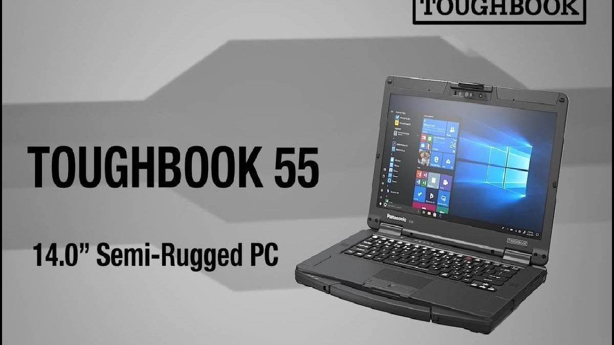 Panasonic Toughbook FZ-55 – Casing, Connections, Display, and More