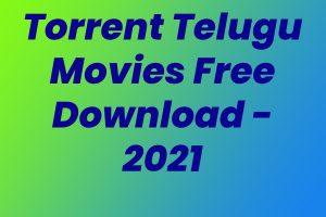 Torrent Telugu Movies